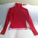 Energie Sheer Juniors Large Red Tank Top Flame Red Color NWT