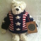"""9"""" Boyds Plush Stuffed Bear Sept 11 2001 Enduring Freedom Archive Collection"""