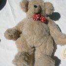 "1998 18"" Ditzi Dames Dawn Bailey Handmade plush Jointed Teddy Bear stuffed"