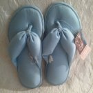 Gilligan O'Malley Well Being Sandbean Slippers Size Medium Blue Massaging