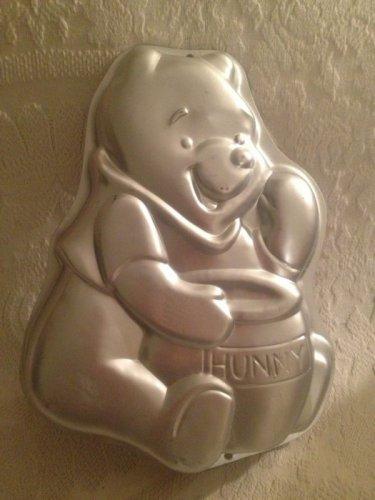 "Winnie The Pooh W/ Hunny Pot Wilton Metal Cake Baking Pan 13"" Tall"