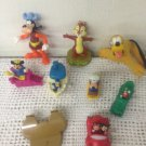 Lot McDonalds Toys Pluto Goofy Wind Up Minnie Mickey Mouse Dale Boat Car
