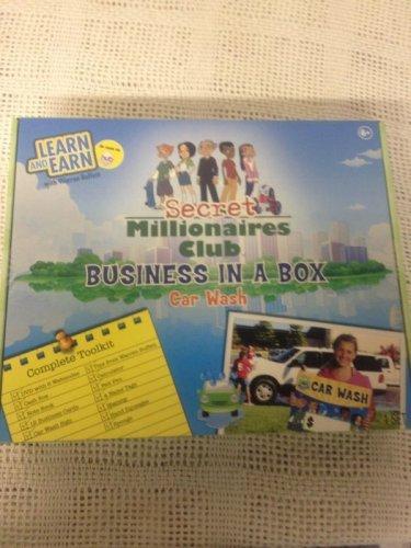 Secret Millionaires Club Business In A Box Car Wash Warren Buffet Learn Earn HUB