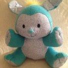 "11"" Aquadoddle 2005 Spin Masters Blue Puppy Dog Stuffed Plush"