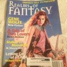 Realms Of Fantasy December 2001 Daniel Abraham Richard Parks M Shayne Bell