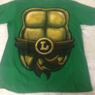 Mens XXL Teenage Mutant Ninja Turtles Green T-Shirt Leonardo Shortsleeve TMNT