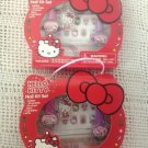 NEW Lot Hello Kitty Nail Kit Set Polish Shields Gem Stickers File Christmas