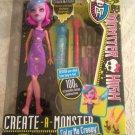 NEW Monster High Color Me Creepy Werewolf Create-A-Monster Starter Pack