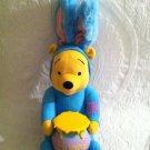 "16"" Disney Plush Stuffed Applause Funny Hunny Pooh Bunny Winnie Easter Talks"