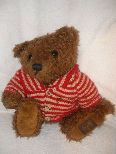 10� 1996 Giorgio Beverly Hills Collector�s plush Brown Bear with sweater stuffed