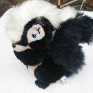 """VTG 12"""" 1980's Disney Bambi Flower Skunk designed for Sears stores plush stuffed"""