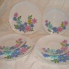 "Winterling Marktleuthen Bavaria Set  3 8"" plates & 3 saucers"