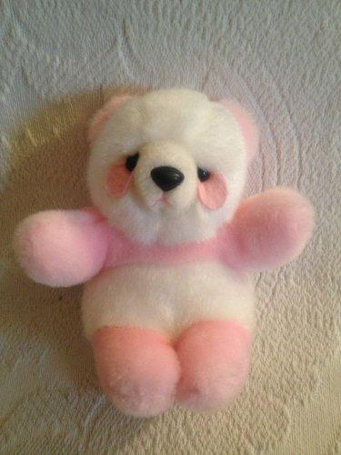 "Rare 6"" Pink White Plush Stuffed Hong Kong Society For Panda Conservation Animal"