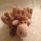 "8"" Long Gund Small Plush Stuffed Moozle The Moose NEW"