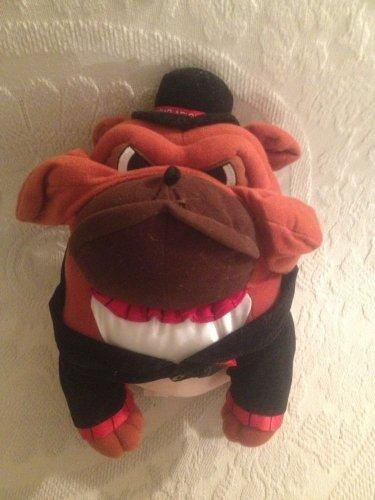 "12"" PLUSH STUFFED BULLDOG DOG CIGAR AFICIONADO XONEX TOBACCO COLLECTIBLE"
