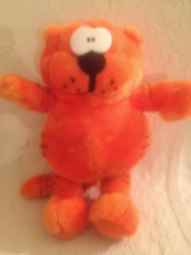 "11"" 1997 Nanco Heathcliff Plush Stuffed Orange Cartoon Kitty Cat"