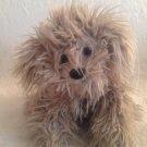 """HTF 12"""" Gund Dreyfus Gray Shaggy Dog Plush Stuffed Toy"""