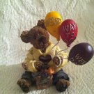 Boyds Bear Goodfer U Bear Way To Go! Balloons Congrats! Well Done! Figurine