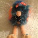 "Rare 10"" Aurora Fancy Flier Dodo Bird Plush Stuffed Toy Orange Blue"