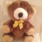 "5"" Rosco Similac Infant Formula Brown Teddy Bear Plush Stuffed Yellow Ribbon"