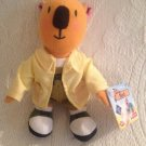 """Rare 6"""" 2004 Fisher Price Mattel Koala Brothers Ned Plush Stuffed Toy"""