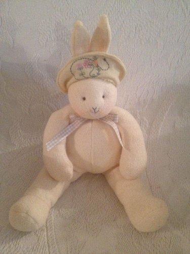 "10"" 2002 Hallmark Bunnies By The Bay Baylee Plush Stuffed Bunny Rabbit"
