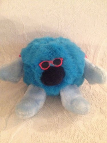 "Rare 7"" Francesca Hoerlein & Company D J Weeple Plush Stuffed Blue Monster"