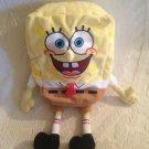 "TY Spongebob Squarepants Large 10"" x 8"" Beanie Stuffed Plush Nickelodian Cartoon"