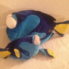 "Lot 8"" & 14"" Disney Pixar Finding Nemo Plush Stuffed Dori Angelfish"