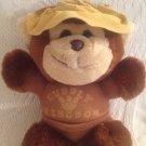 "Rare 8"" Cuddly Kingdom Plush Stuffed Yellow Hat Bear ? Monkey Toy"