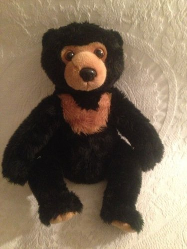 "14"" Aurora Brown Bear Plush Stuffed Animal Toy VGUC"