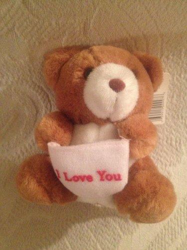"Russ 5"" VTG Russ Caress Soft Pets Good Wish Teddy Bears I Love You NWT"