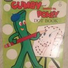 VTG 1970 Unused Whitman Gumby & Gumby's Pal Pokey Dot Activity Book