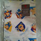 Vintage American Greeting Ziggy 1 Sheet Giant Gift Wrap 8.33 Sq. Ft. Sealed