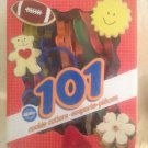 Wilton 101 Cookie Cutter Set Holiday Numbers Letters Shapes Sports Vehicles