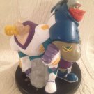 "7"" Tall Disney Mighty Ducks I've Got Your Back Hockey Players Plastic Coin Bank"