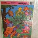Rare HTF Vintage 1985 Disney Gummi Bears Frame Tray Puzzle