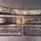 Silver Belt, Silver Bracelets, Silver Bag