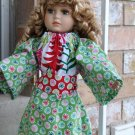 American Girl Doll Christmas Tunic Dress