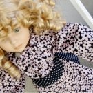 Pink Floral Tunic Doll Dress