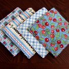 Cherries Fabric Coasters Set of 4