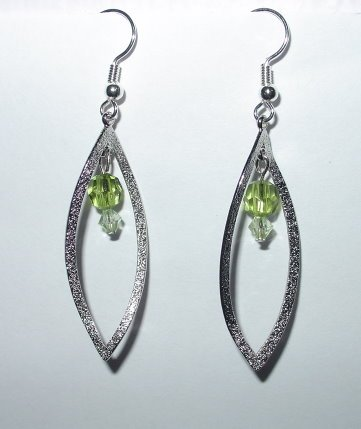 Green Leaves Earrings. STRESS RELIEVER