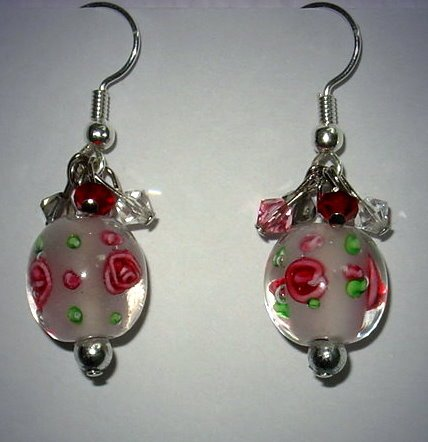 Oriental Pink Earrings
