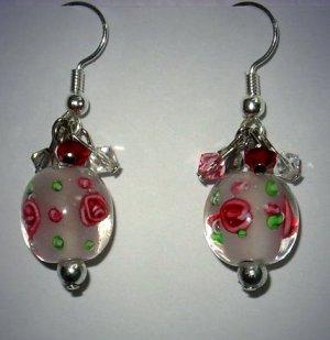 Oriental Pink Earrings