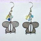 Sweet Dainty Silver Butterflies