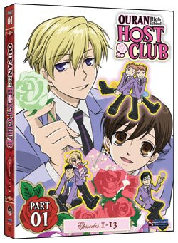 Ouran High School Host Club Season 1 DVD Part 1