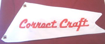 Custom Cotton Correct Craft Boat Burgee Flag
