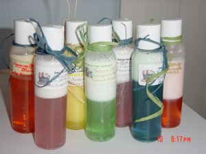 MANGO FOAMING BATH OIL - 4oz. bottle