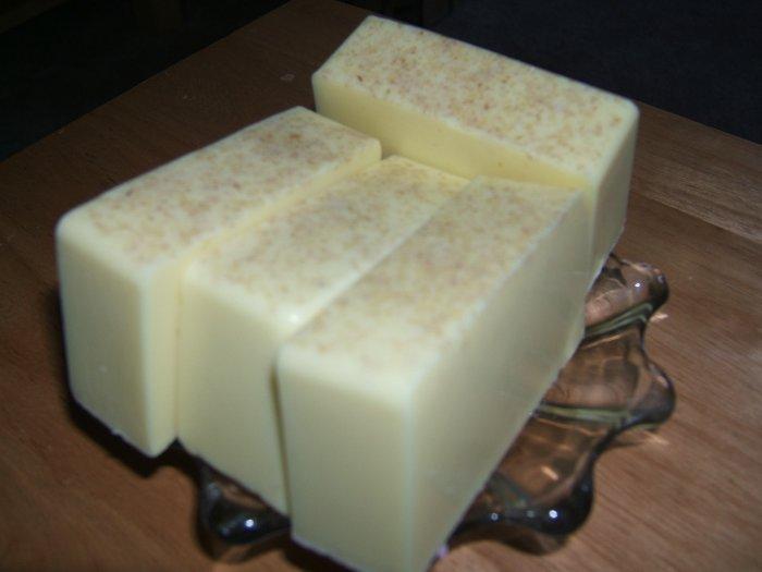 SANDALWOOD MUSK HANDMADE SOAP - 3 oz. Bar