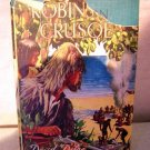 Robinson Crusoe by Daniel Defoe Blackie's Famous Books AL1004